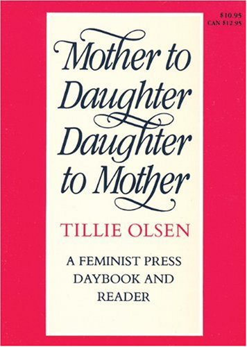 Mother to daughter daughter to mother a daybook and reader best