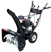 Hot Sale Power Smart DB7659A 22-inch 208cc LCT Gas Powered Compact 2-Stage Snow Thrower with Electric Start