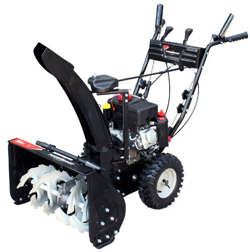Review Of Power Smart DB7659A 22-inch 208cc LCT Gas Powered Compact 2-Stage Snow Thrower with Electr...