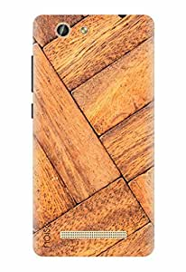 Noise Designer Printed Case / Cover for Gionee F103 Pro / Patterns & Ethnic / Maple Curve Design