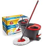 O-Cedar Easy Wring Microfiber Spin Mop & Bucket System