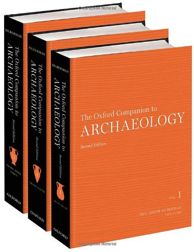 The Oxford Companion to Archaeology: 3-Volume Set