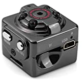2 Modes HD 1080P, 720P Mini Hide DV Camera Spy Dice Shape Pic/Voice/Video IR Night Vision Home Security Motion Detector for Lawyers Journalists and Business men VA-12