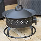 Bond-185-in-Portable-Bronze-Propane-50k-BTU-Campfire-Fire-Pit