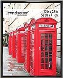 MCS 27228 Trendsetter Poster Frame, 22 by 28-Inch, Black
