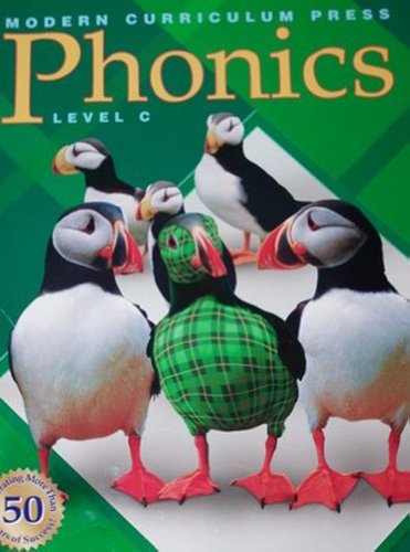 Modern Curriculum Press Phonics Level C Teachers Resource Guide Edition 2003c
