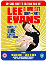 Lee Evans: Complete Live Comedy Collection 1994-2011 - Special Augmented Reality Box Set Limited Edition Tin [DVD]