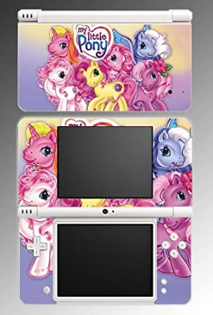 My Little Pony Friendship is Magic Equestria Cute Cartoon Cutie Mark Video Game Vinyl Decal Cover Skin Protector #1 for Nintendo DSi XL