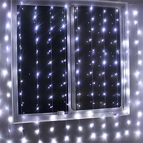 Echosari 174 1000 Led Curtain Lights Indoor Amp Outdoor