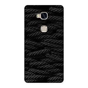 Premium Rope Pattern Back Case Cover for Huawei Honor 5X