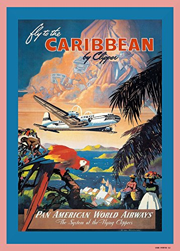 vintage-travel-caribbean-with-pan-am-airways-and-the-system-of-the-flying-clipper-250gsm-gloss-art-c