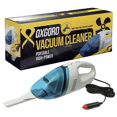 Car Vehicle Auto Oxgord Portable/Handheld High Powered 12V Vacuum Cleaner (Car Vacuum Cheap compare prices)
