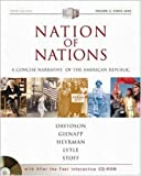 Nation of Nations Concise Volume II with After the Fact Interactive USDA; MP: A Concise Narrative History of the American Republic (0072502789) by Davidson, James West