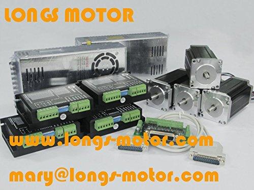 Promote 4axis Nema 23 Stepper Motor435oz 4.2a 115mm Length &Driver (Stepper Motor Nema 23 Kit compare prices)