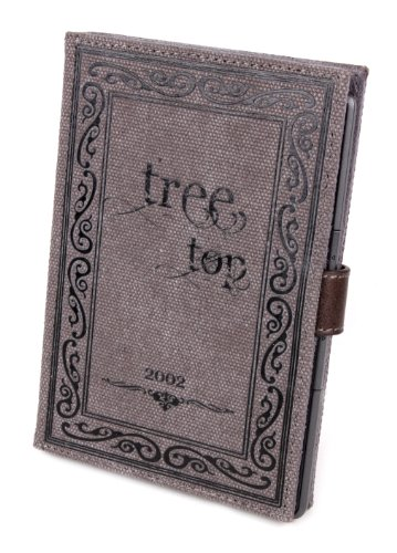 "DURAGADGET Canvas ""Tree Top"" Style Cover With Popper Clasp For Onyx BOOX C65 HD AfterGlow at Electronic-Readers.com"