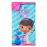 Doc McStuffins Sleeping Bag with Backpack Carrying Case
