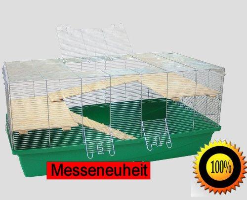 1m-Kfig-mit-6mm-Gitterabstand-Hamsterkfig-Musekfig-RattenkfigBonus-grn