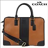 (コーチ)COACH バッグ ビジネスバッグ ブリーフケース F71639 サドル×ブラック (並行輸入品)