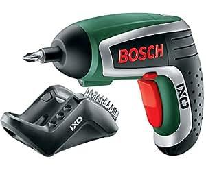 Bosch HomeSeries IXO Akkuschrauber 4. Generation, 10 Standard-Schrauberbits, Ladegerät