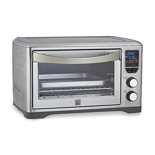 Kenmore Elite Digital Countertop Convection Oven, Large enough to accommodate a 12-inch pizza (Kenmore Toaster Oven Parts compare prices)