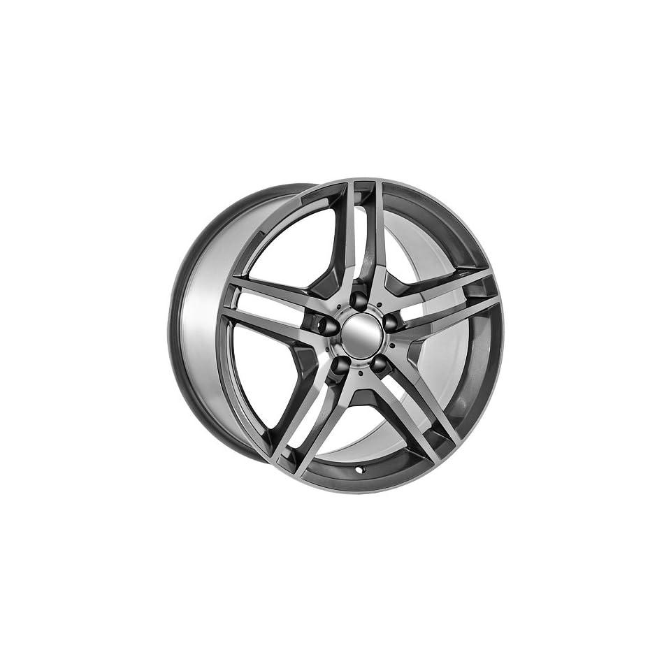 18 Inch Gunmetal Mercedes Benz Style Replica Rims