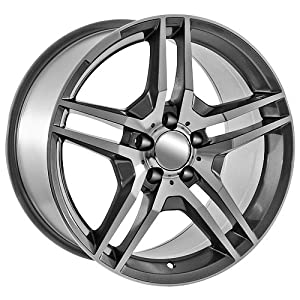 Amazon.com: 17 Inch AMG replica Rims for Mercedes Benz: Automotive