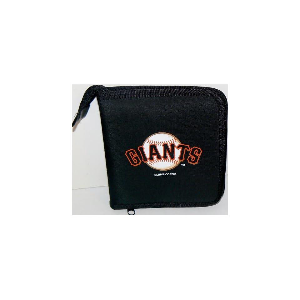 MLB Licensed San Francisco Giants CD DVD Blu Ray Wallet