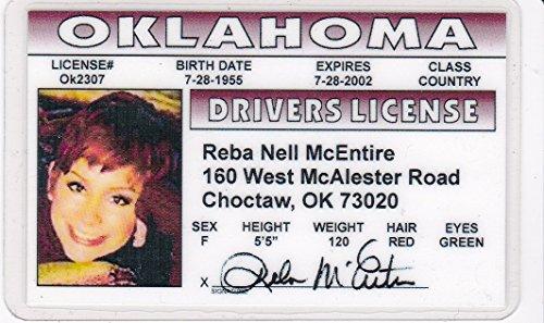 Nick Carter Novelty Drivers License / Fake I D  Identification For