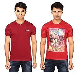 Strak Cotton Men's Casual T-Shirt (STR2042_M)