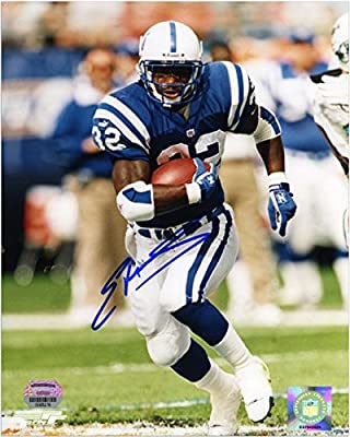 "Edgerrin James Indianapolis Colts Autographed 8"" x 10"" Running Photograph - Fanatics Authentic Certified"