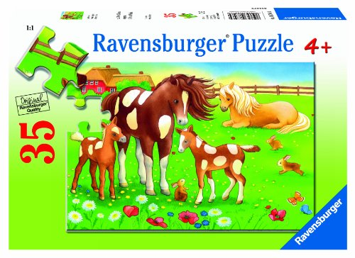 Ravensburger Cute Horses Puzzle (35-Piece)