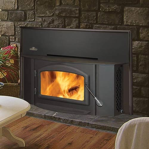 Review: Napoleon 1402 Painted Black Wood Burning Fireplace Insert - Review: Century Heating Wood Stove Fireplace Insert - Finest Fires