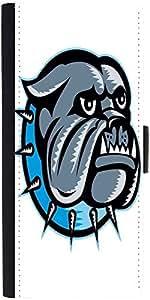 Snoogg Bulldog Dog Head Mascot Designer Protective Flip Case Cover For Apple ...