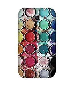 Colour Pallete Printed Back Cover Case For Samsung Galaxy Grand Duos I9082
