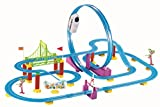#6: Saffire Big Track Racer J1 Train Set, Multi Color