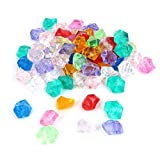 Aquarium Faux pierres de cristal Décoration 50 Pcs couleurs assorties