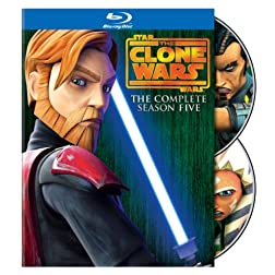Star Wars: The Clone Wars - The Complete Season Five [Blu-ray]