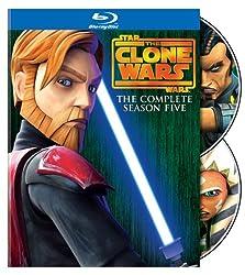 Star Wars: The Clone Wars: Season 5 [Blu-ray]
