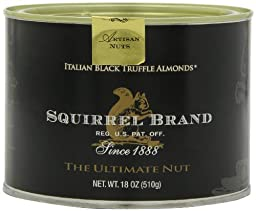 Squirrel Brand Italian Black Truffle Almonds, 18-Ounce (Pack of 6)
