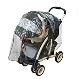 Jeep Travel System Weather Shield, Stroller Protector, Baby Weather Protector, Plastic, Model: 90207, Newborn & Baby Supply