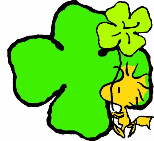 Eureka Peanuts St. Patrick's Day Paper Cut Outs