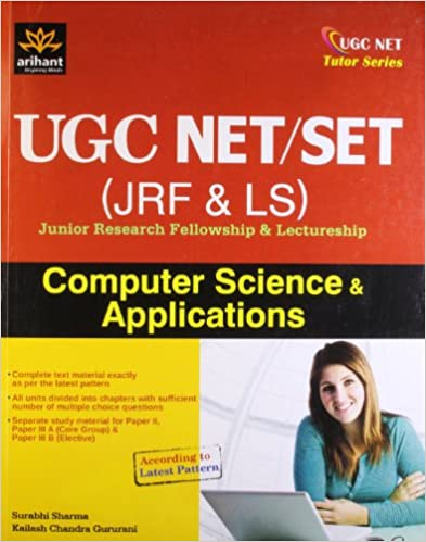 UGC NET JRF & LS Junior Research Fellowship and Lecturership: Computer Science and Applications price comparison at Flipkart, Amazon, Crossword, Uread, Bookadda, Landmark, Homeshop18