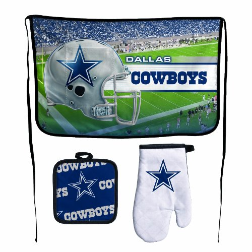 Nfl Dallas Cowboys Premium Barbeque Tailgate Set
