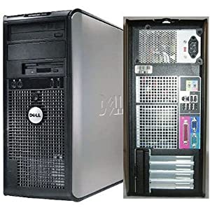 Dell Optiplex 760 Intel Dual Core 2.8GHZ 8GB DDR2 1TB 7200 RPM Windows 7 Home 64 BIT PCI WIFI Installed, DVD-BURNER
