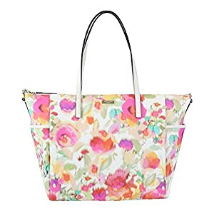 Kate Spade Grant Street Grainy Vinyl Adaira Baby Bag - Giverny Floral by kate spade by kate spade