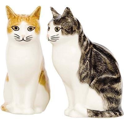 Quail Ceramics - Cat Salt And Pepper Pots - Edith & Squash by Quail Ceramics