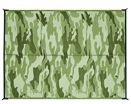Camco 42886 Reversible Outdoor Mat 6 X 9 Camouflage