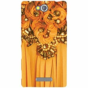 Design Worlds Sony Xperia C Back Cover - Creative Designer Case and Covers