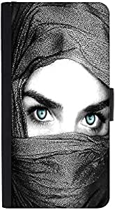 Snoogg Girl Covering Her Face Designer Protective Phone Flip Back Case Cover For Xiaomi Redmi Note 3