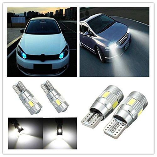 AUDEW-2x-T10-5630-6-SMD-LED-lampadine-HID-Bianco-CANBUS-DC12V-Senza-errori-6000-6500K-lato-auto-gratuito-luce-cuneo